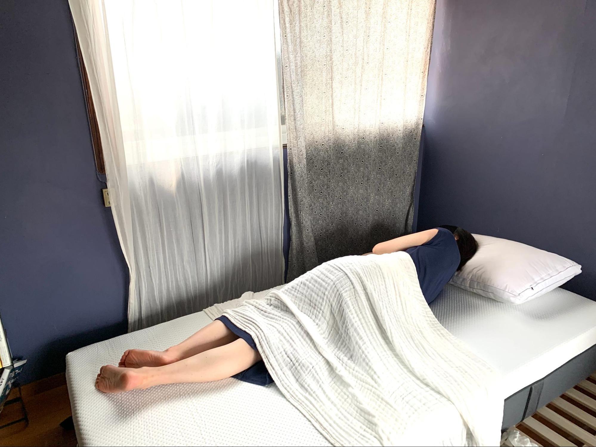 エマ・スリープマットレスを試してわかった特徴5つ_レビュー③寝心地の良さ