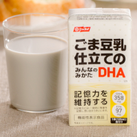 ごま豆乳仕立てのみんなのみかたDHA(日本水産)