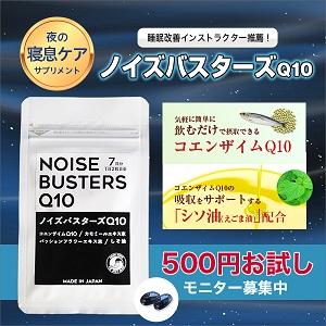 ノイズバスターズQ10 お試し500円(ムーンムーン)