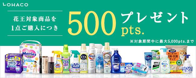 LOHACO(花王)ポイントプレゼントキャンペーン